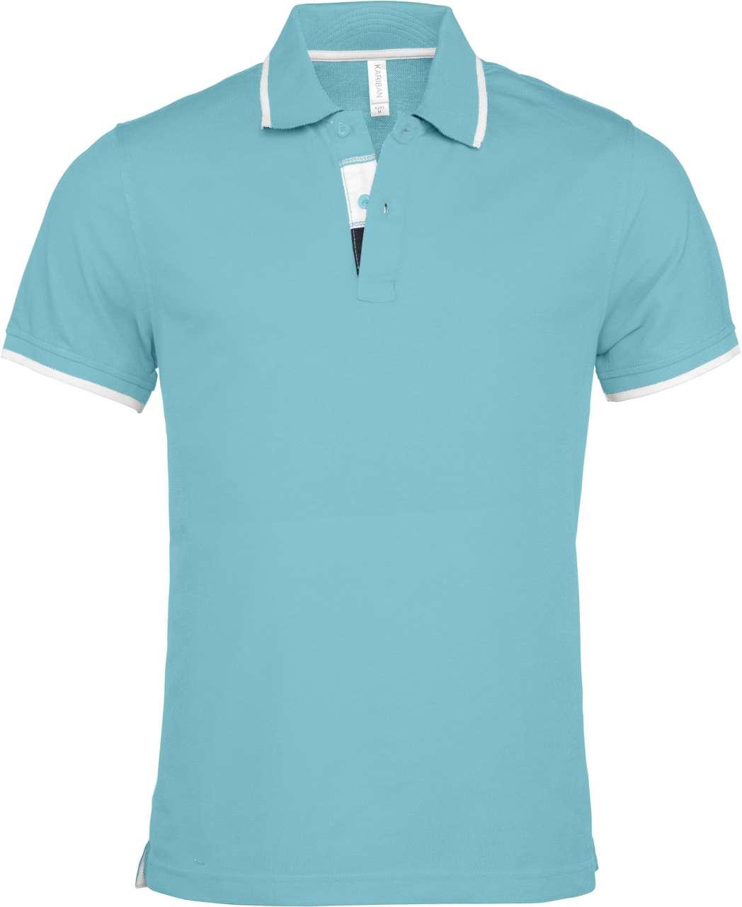 6e51ae6a9d Light Turquoise/Whit Kariban galléros piké, minőségi termék 4 féle ...