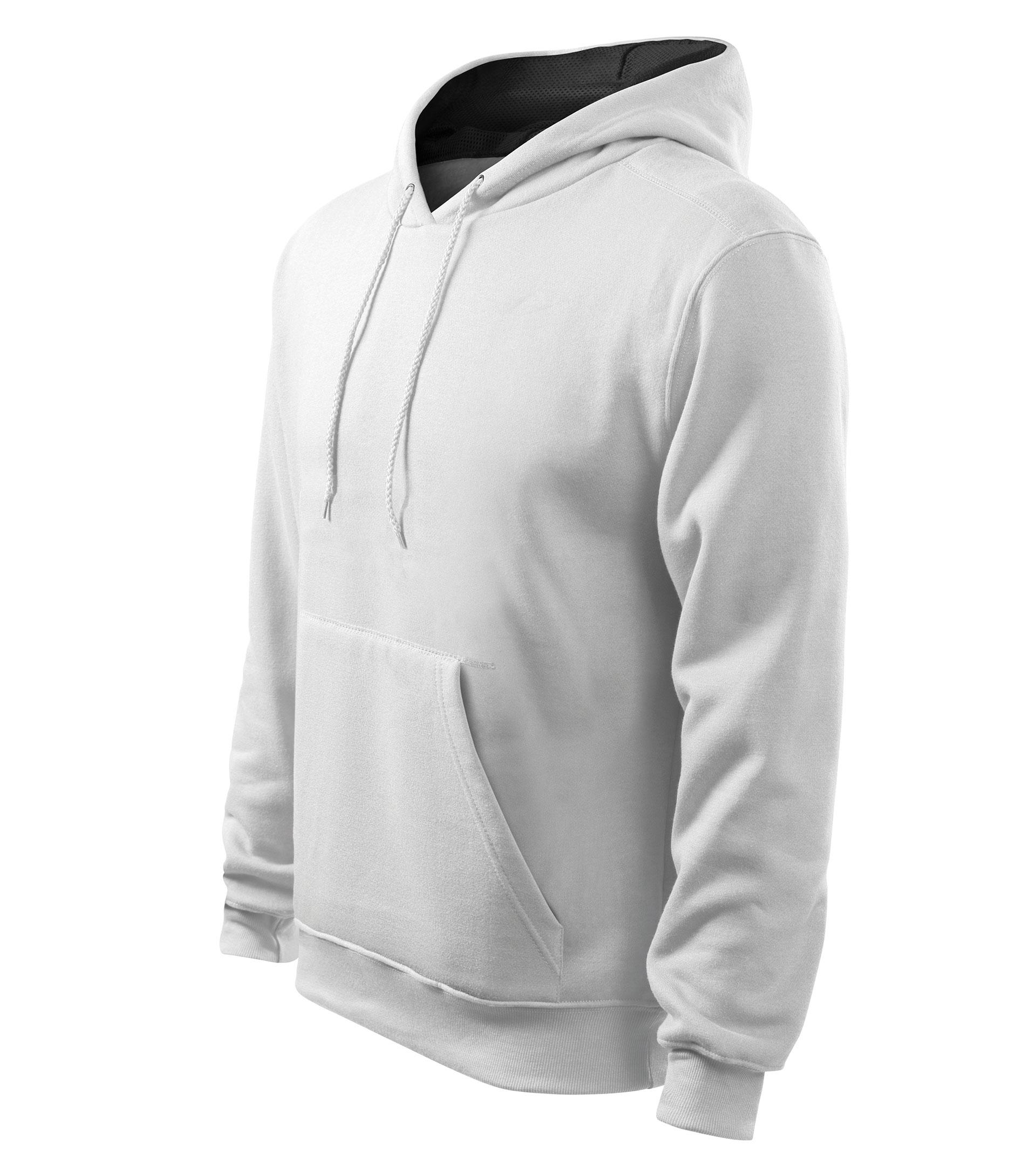 Férfi kapucnis pulcsi Hooded Sweater üvegzöld M